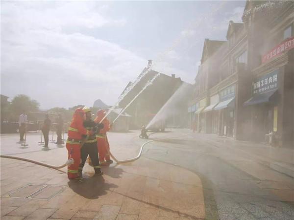 平安社区,安全消防!花溪碧桂园消防实战演习顺利开展! 社会 第5张