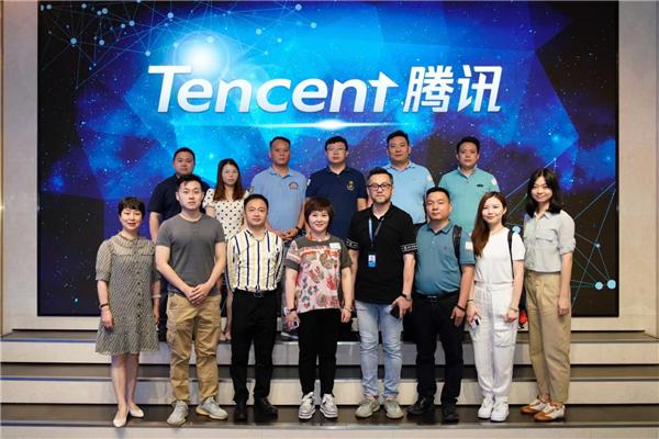 贵州益佰制药总经理率队赴深圳腾讯公司考察学习 社会 第3张